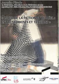 """Journée d'études """"Le jeu de la fiction et du réel: entre symbioses et tensions"""""""