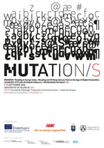 ENCART - Colloque international - MUTATION