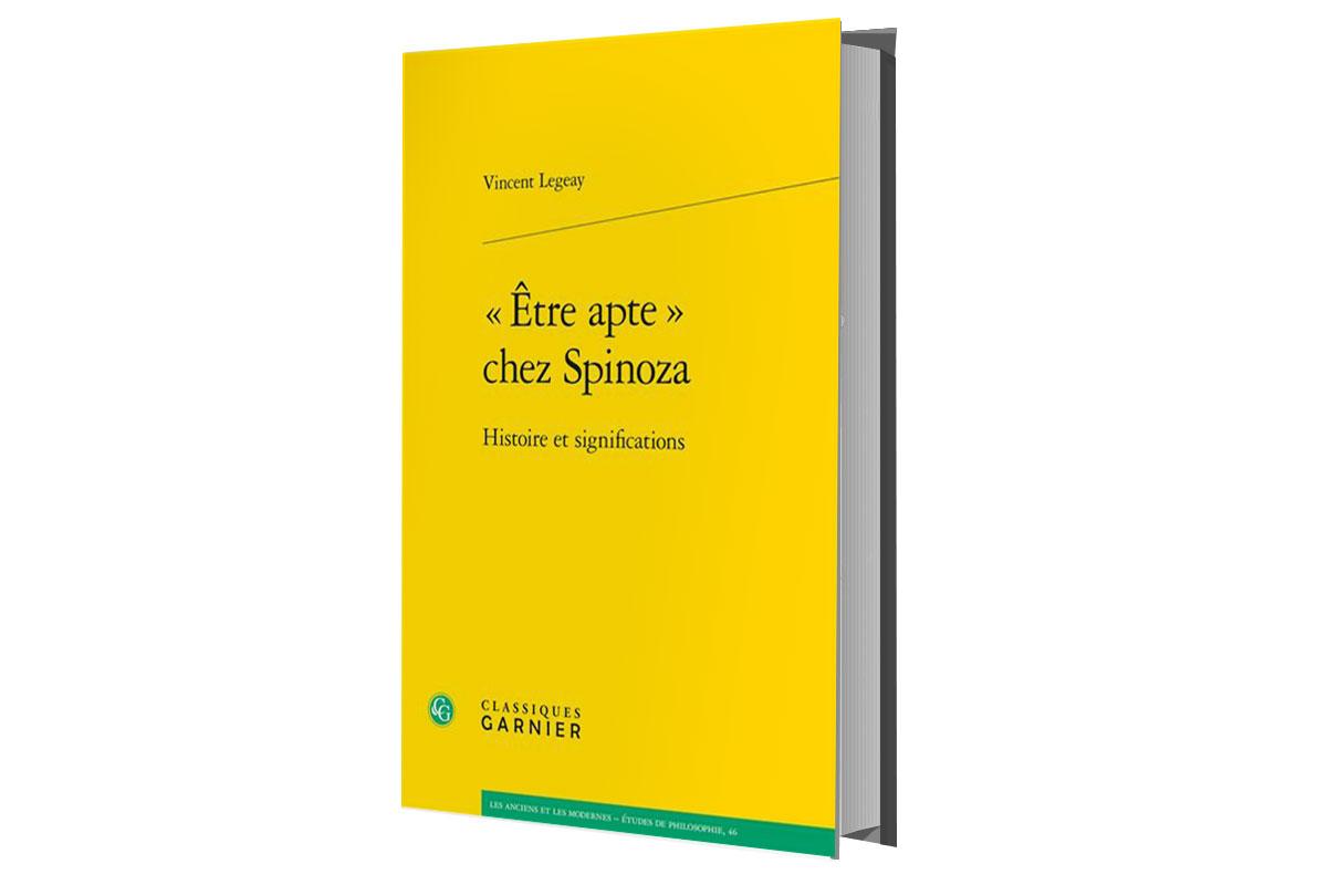 ouvrage spinoza de Legeay